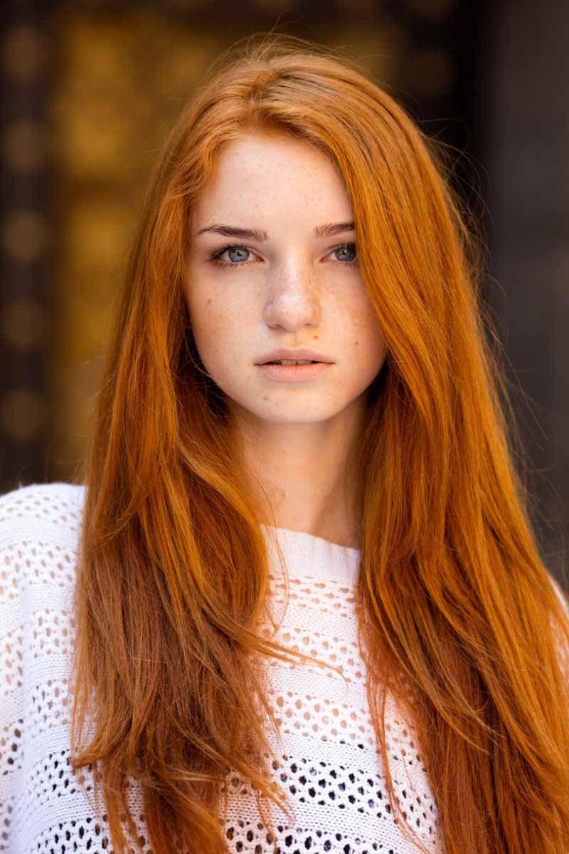Самые красивые рыжие девушки инстаграма и других соц.сетей 4