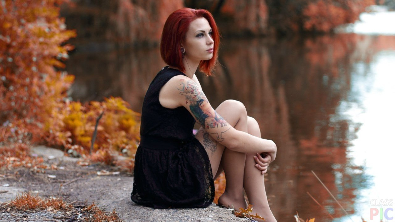 Рыжие красотки: фото со спины - как романтично 4