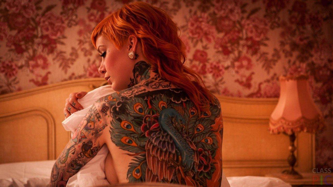 Рыжие красотки: фото со спины - как романтично 5
