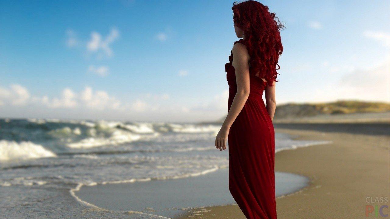 Рыжие красотки: фото со спины - как романтично 9