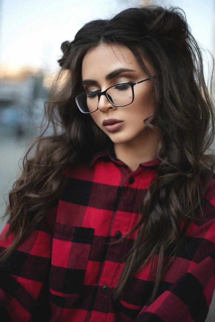 Фото милых девушек в очках: подборка очаровашек 4
