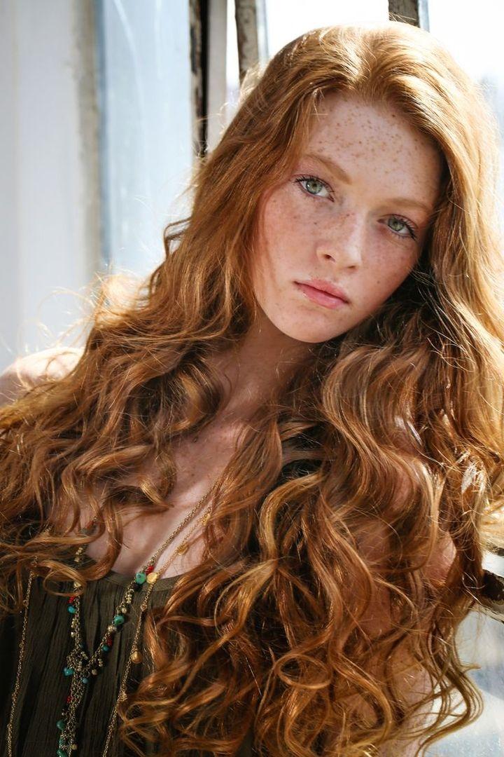 Самые красивые рыжие девушки инстаграма и других соц.сетей 8