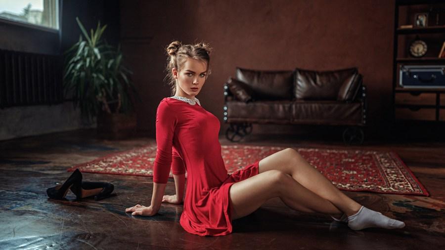 Красотки в коротких платьях: фото сексуальных девушек 16