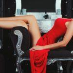 Девушки в сексуальных вечерних платьях: в жар бросило! 18