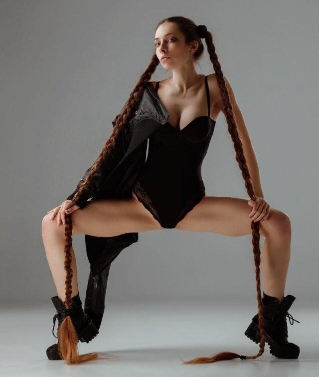 Алена Ануфриева - «Рапунцель» из Украины с волосами до пят 3
