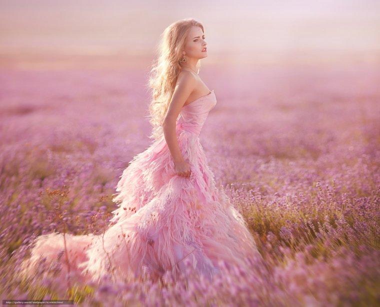 Фото девушек в розовых платьях: гламурные милашки 2