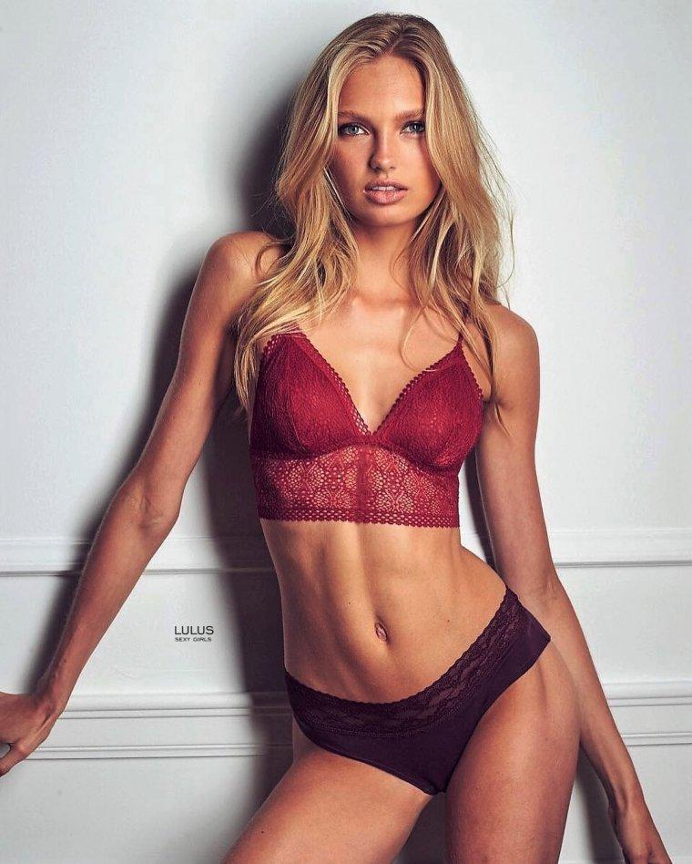 Роми Стрейд - фото горячей супермодели Victoria's Secret 7