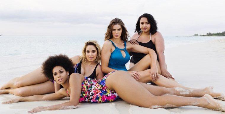 Полненькие девушки в купальниках: летние фото