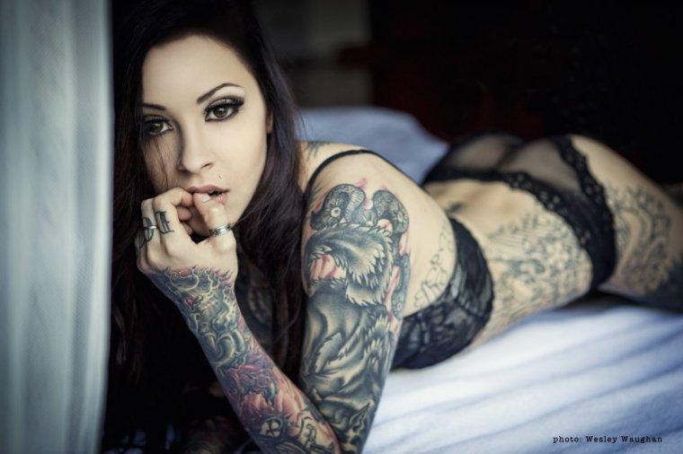Девушки с красивыми татуировками - новая подборка 1