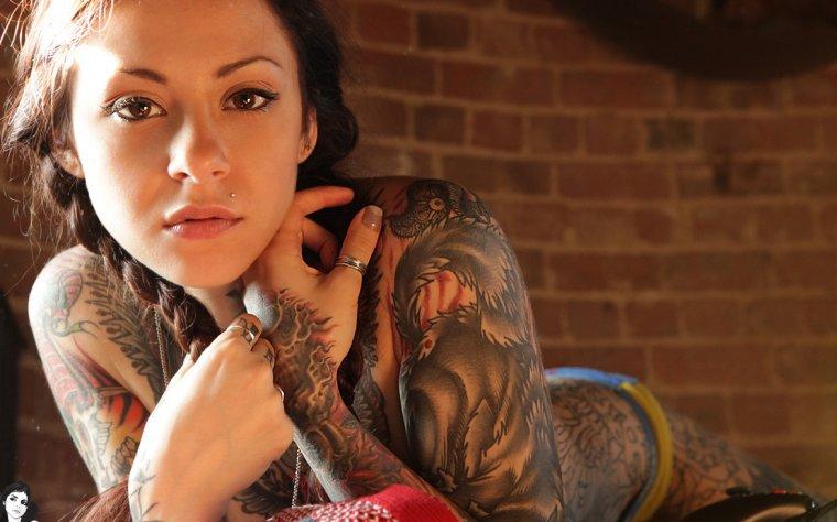 Девушки с красивыми татуировками - новая подборка 2