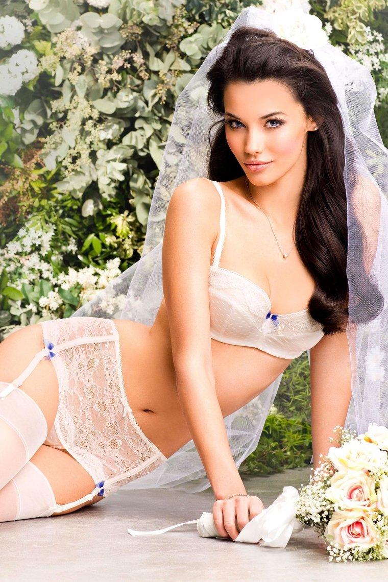 Сексуальные невесты в нижнем белье: повезло же кому-то 8