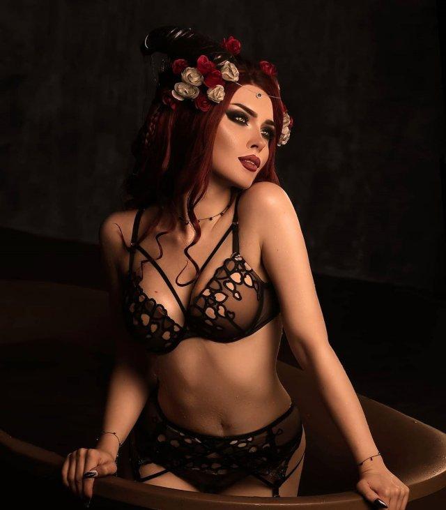Илона Бугаева - самая сексуальная косплейщица из Питера 9
