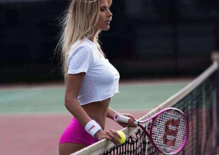 Красивые теннисистки - Фото девушек на корте 6