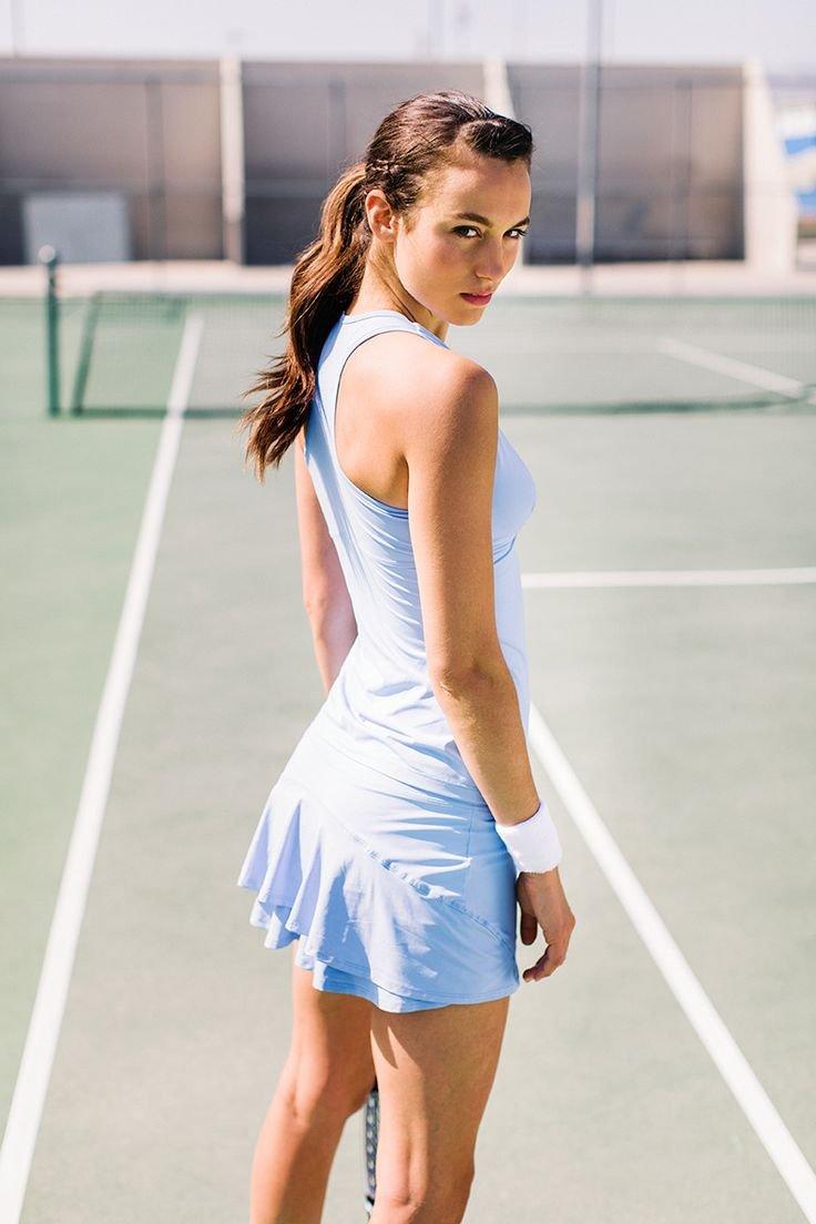 Красивые теннисистки - Фото девушек на корте 7