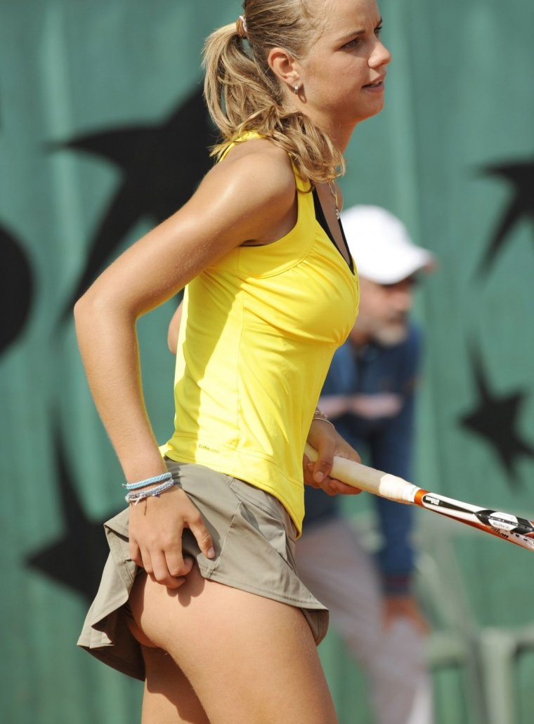 Красивые теннисистки - Фото девушек на корте 8