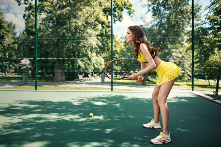 Красивые теннисистки - Фото девушек на корте 9