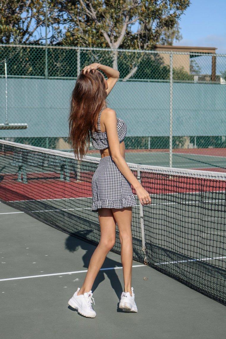 Красивые теннисистки - Фото девушек на корте 10