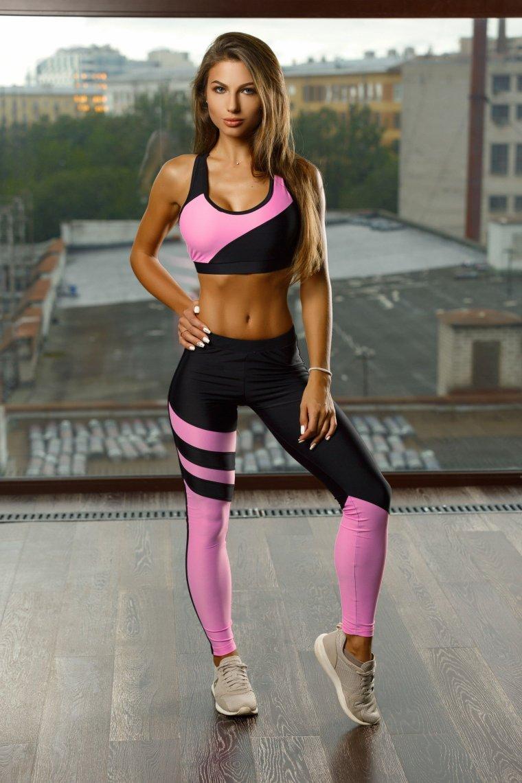 Красивые девушки в одежде для фитнеса (Фото) 1
