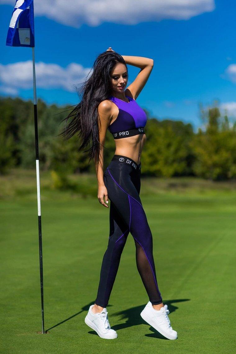 Красивые девушки в одежде для фитнеса (Фото) 5