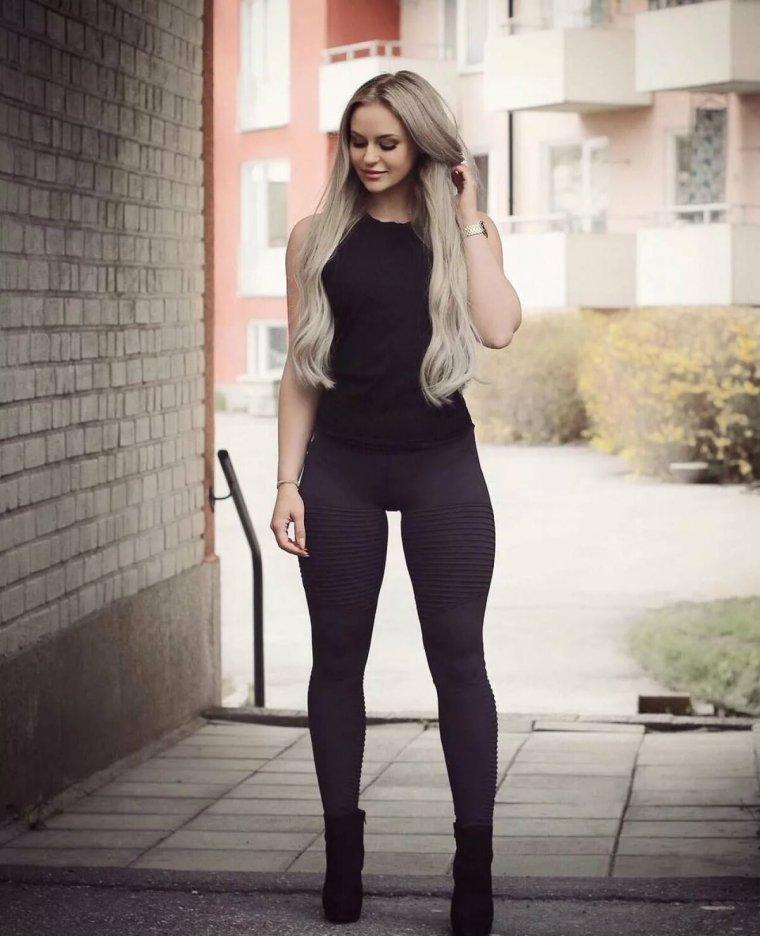 Очень красивые фитнес модели (53 ФОТО) 50