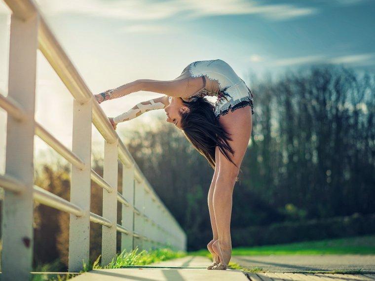 Фото красивых гимнасток: гибкие и талантливые 10