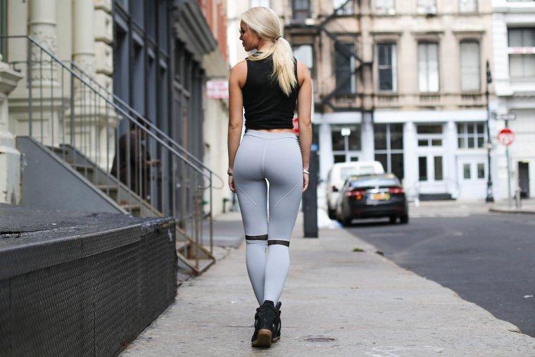 Девушки в трениках: одежда для фитнеса - это сексуально! 2