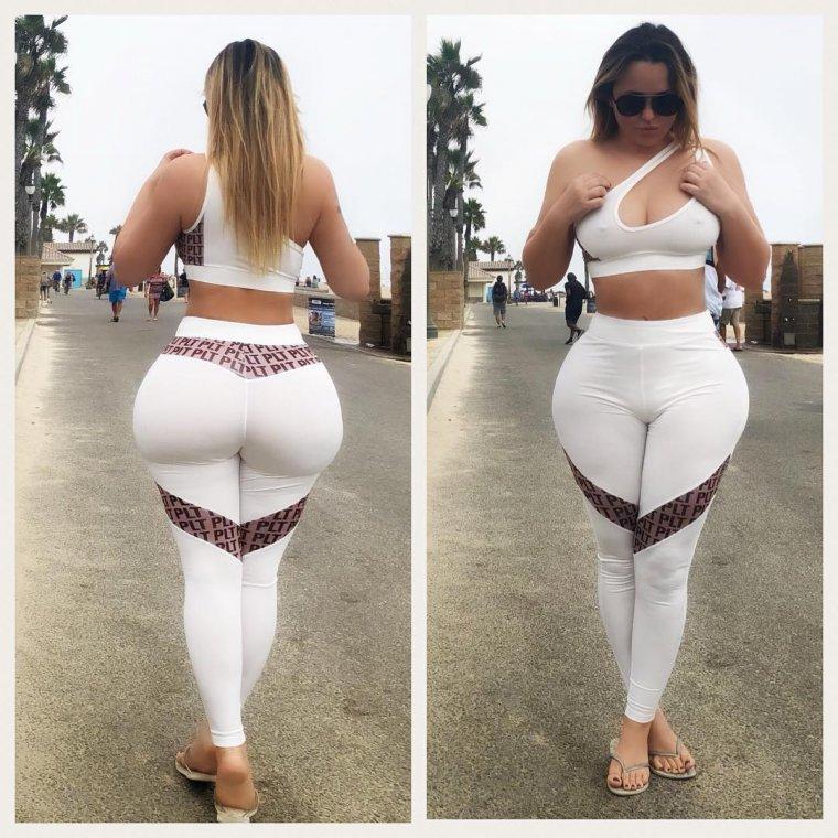 Женщины с большими попами: или огромными? 9
