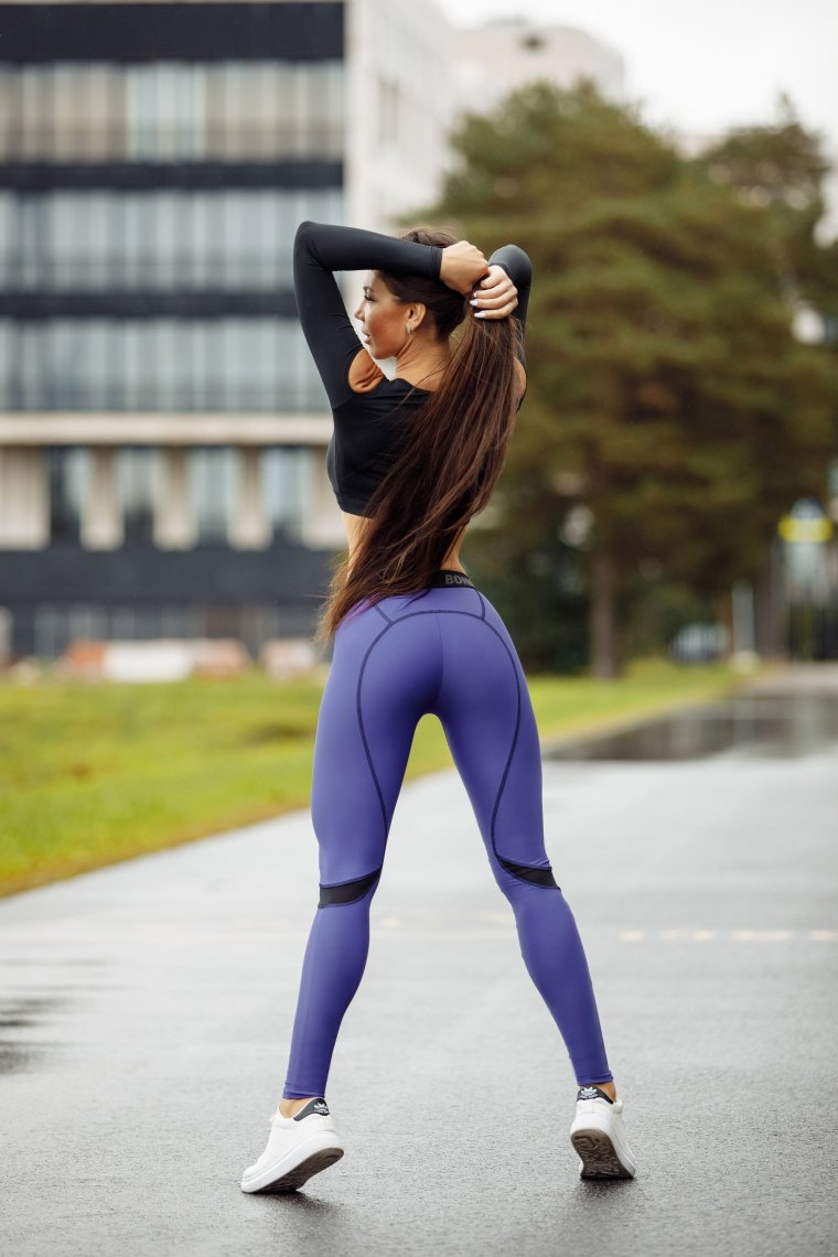 Девушки в трениках: одежда для фитнеса - это сексуально! 10