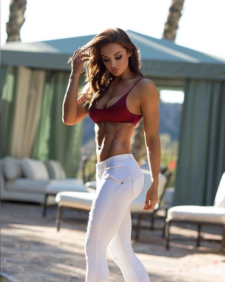 Очень красивые фитнес модели (53 ФОТО) 33