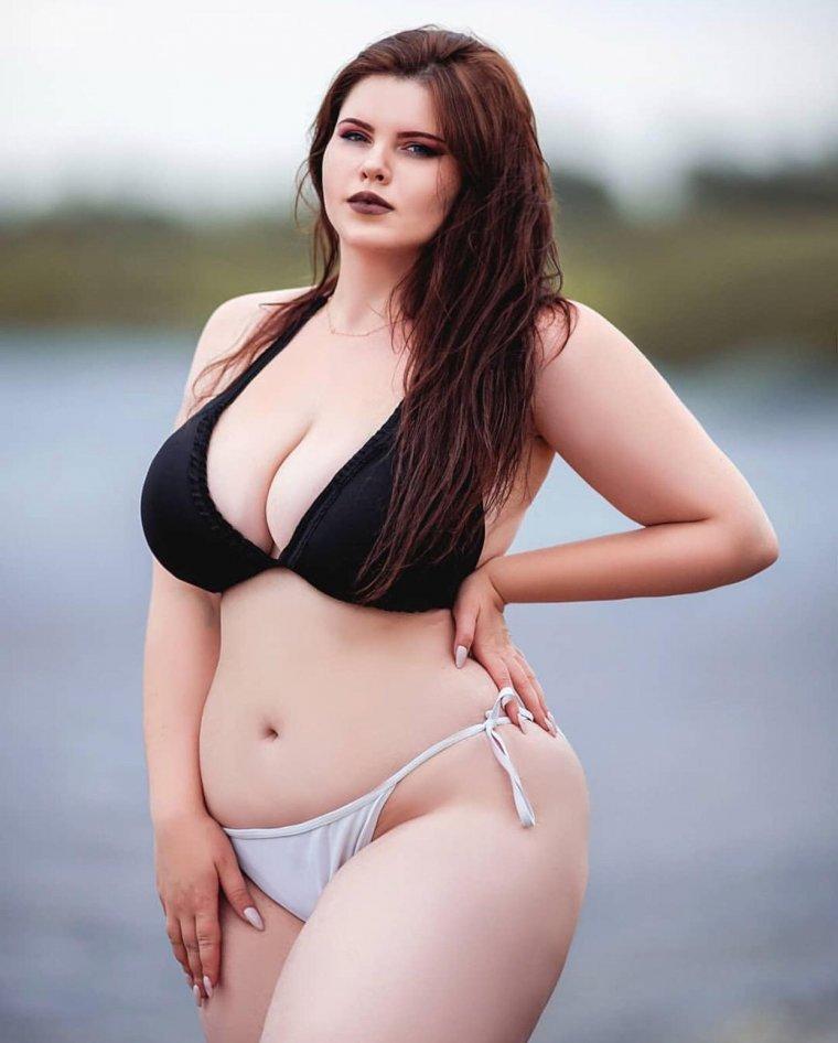 Красивые пышечки с большой грудью: фото подборочка 3