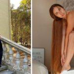 Алена Ануфриева - «Рапунцель» из Украины с волосами до пят 5