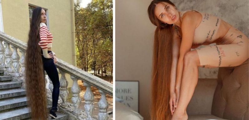 Алена Ануфриева – «Рапунцель» из Украины с волосами до пят
