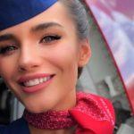Алена Глухова - самая горячая стюардесса в мире из России 5