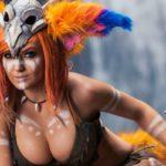 Джессика Нигри - горячие фото сексуальной косплейщицы 14