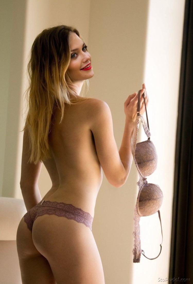 Самые горячие фото Алины Ланиной: в купальнике и нижнем белье 9