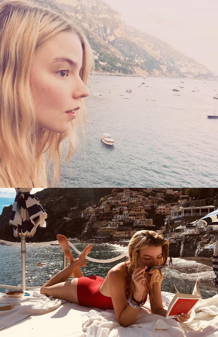 Аня Тейлор-Джой в купальнике и нижнем белье - ФОТО 1