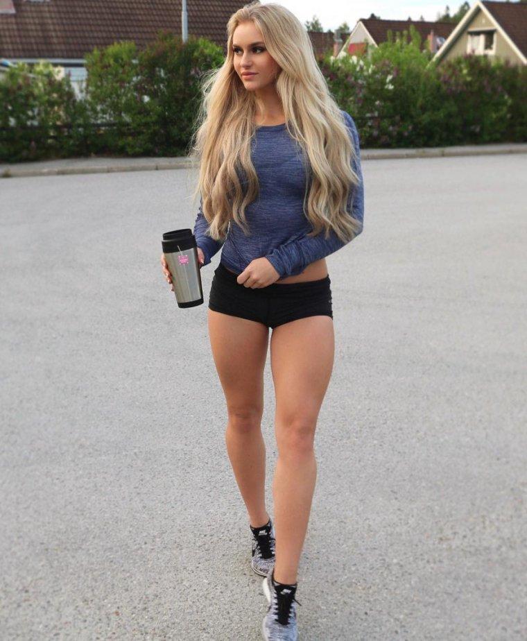 Очень красивые фитнес модели (53 ФОТО) 43