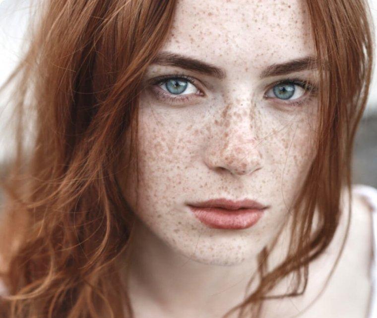 Красотки с веснушками: шикарные портреты 10