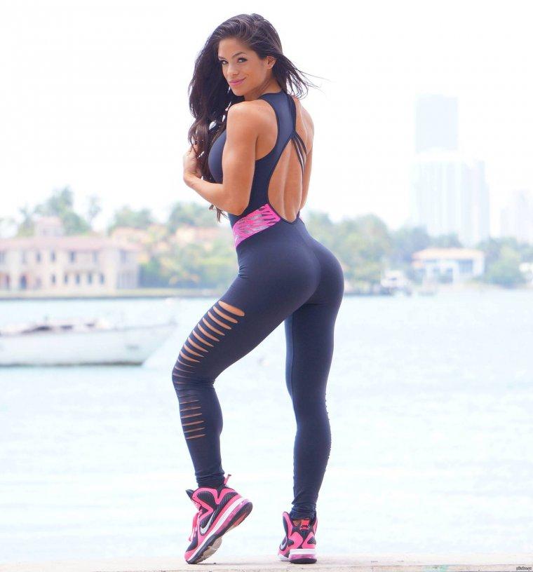 Очень красивые фитнес модели (53 ФОТО) 49