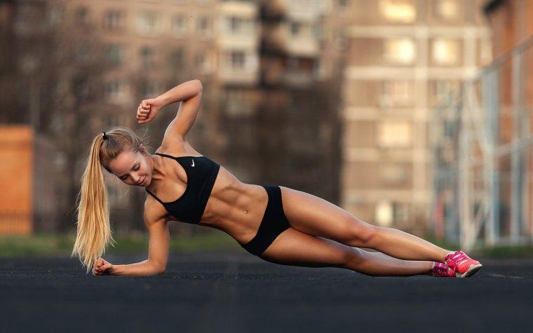 Очень красивые фитнес модели (53 ФОТО) 16