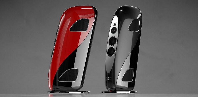 Новые 160-килограммовые колонки для дома от Bugatti