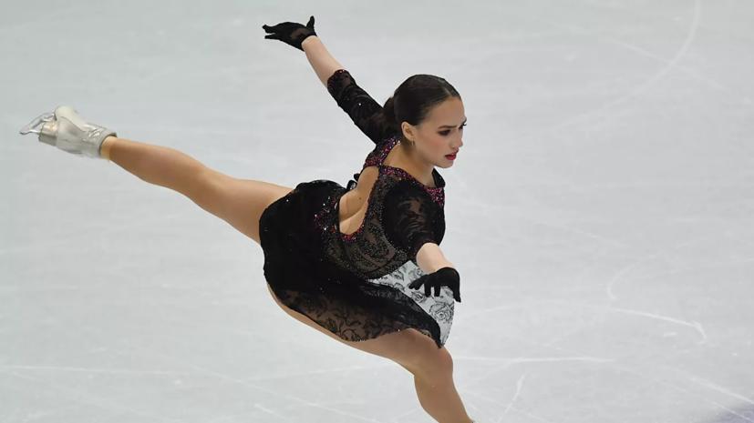 Самые горячие фото Алины Загитовой на льду 1