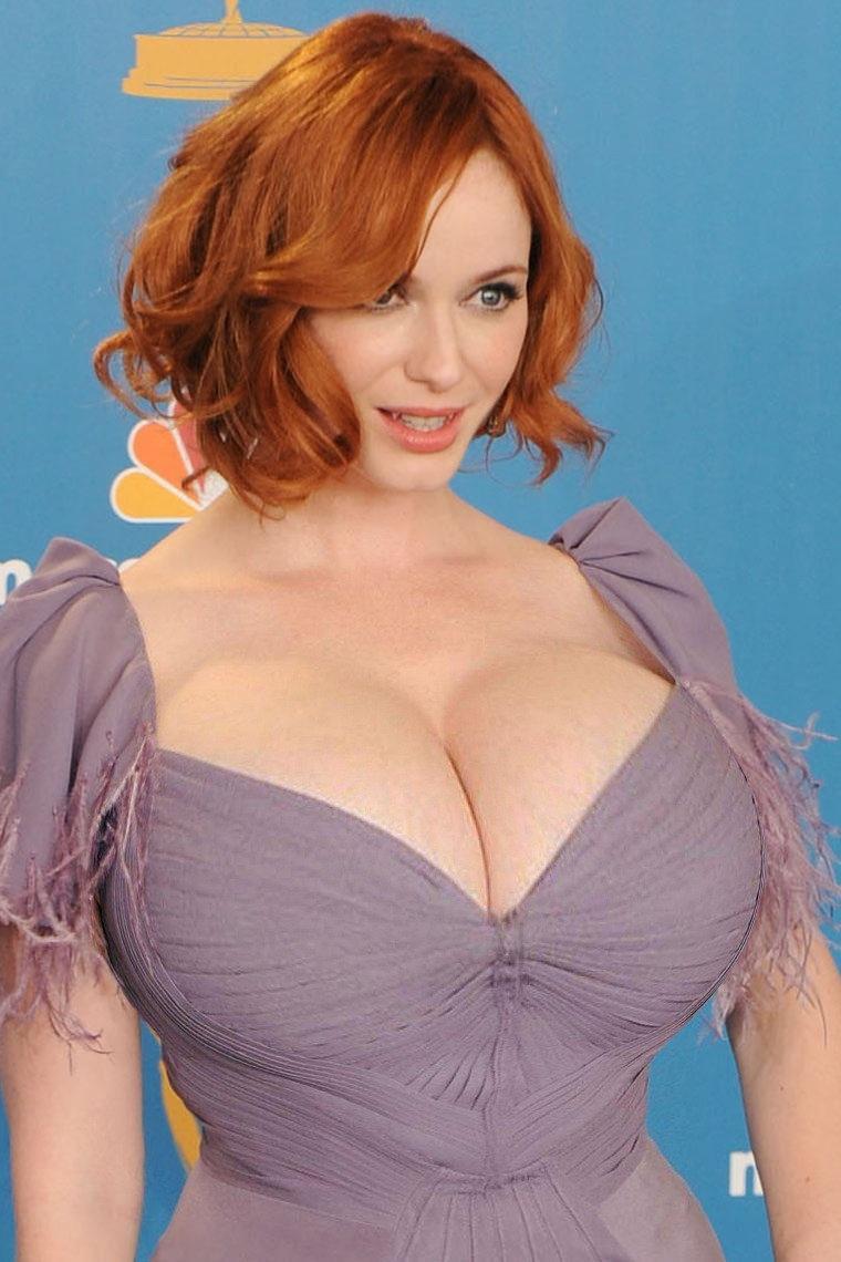 Рыжие девушки с большой грудью: сочные и яркие 4