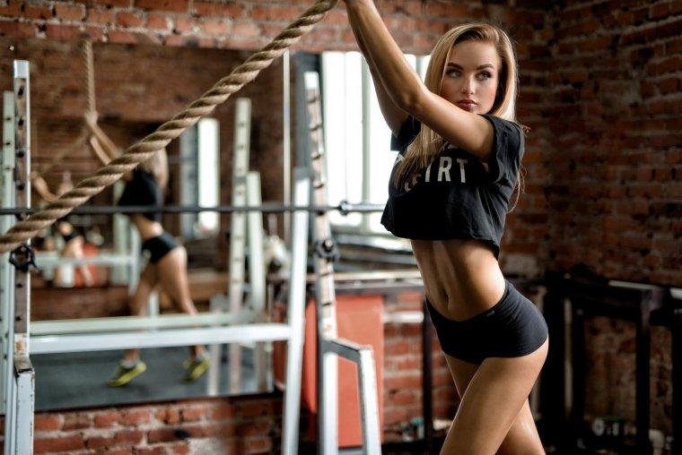 Очень красивые фитнес модели (53 ФОТО) 28
