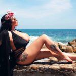Анастасия Бертье - россиянка с огромной грудью 1