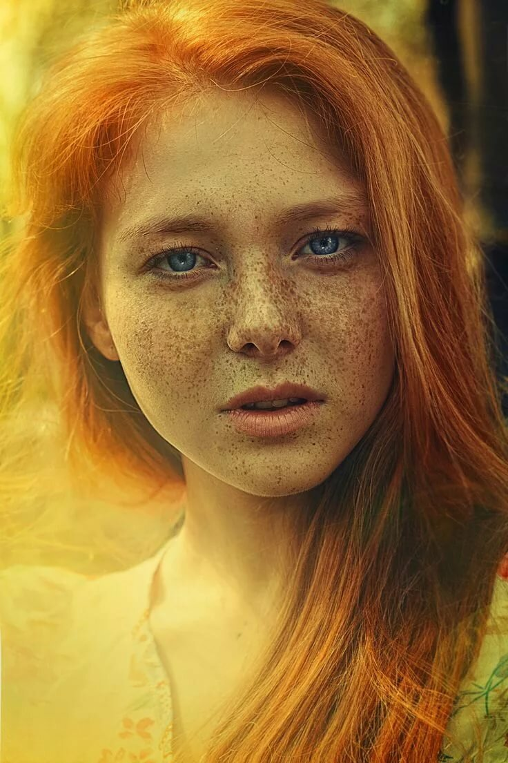 Красотки с веснушками: шикарные портреты 11