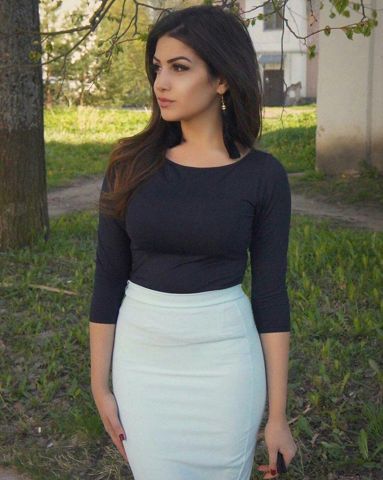 Фото красивых армянок с большой грудью: темноволосые леди 3