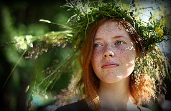 Красотки с веснушками: шикарные портреты