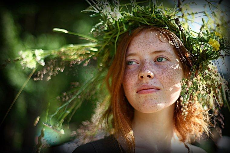 Красотки с веснушками: шикарные портреты 14