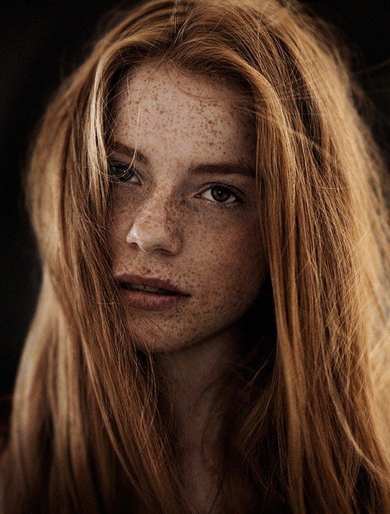 Красотки с веснушками: шикарные портреты 7